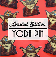 Jubly Umph Limited Edition Yoda Brooch - Cobalt Heights