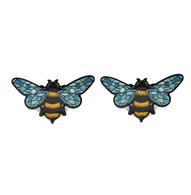 Jubly Umph Queen Bee Studs - Cobalt Heights
