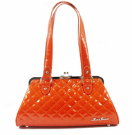 Starstruck Cosmic Kiss Lock Purse - Sunset Orange - Cobalt Heights