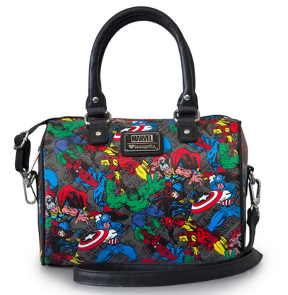 Loungefly X Marvel Avengers Pebble Handbag - Cobalt Heights