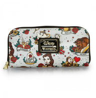 Loungefly X Disney Beauty and the Beast Tattoo Wallet - Cobalt Heights