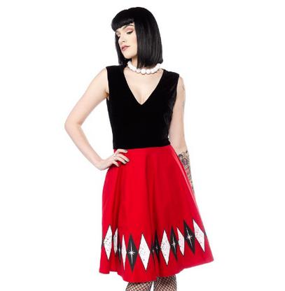 Sourpuss Hostess Dress - Cobalt Heights