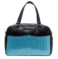 Sourpuss Retro Diaper Bag - Blue - Cobalt Heights
