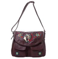 Sourpuss Nomad Chief Bag - Cobalt Heights