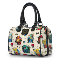 Loungefly X Pokemon Flash Tattoo Pebble Handbag - Cobalt Heights