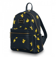 Loungefly X Pokemon Pikachu Mini Backpack - Side - Cobalt Heights
