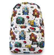 Loungefly X Pokemon Flash Tattoo Backpack - Cobalt Heights