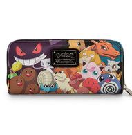 Loungefly X Pokemon Characters Wallet - Cobalt Heights