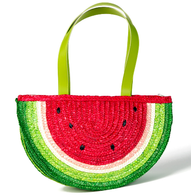 Watermelon Straw Bag - Cobalt Heights