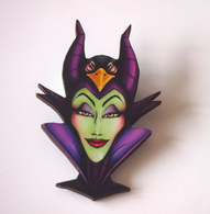 Hungry Designs Hunted Maleficent Brooch - Cobalt Heights