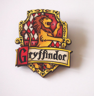 Hungry Designs Gryffindor Brooch - Cobalt Heights