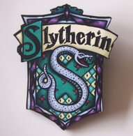 Hungry Designs Slytherin Brooch - Cobalt Heights