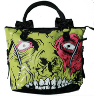 Iron Fit Zombie Chomper Tote Handbag - Cobalt Heights