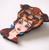 Hungry Designs Hunted Belle Brooch - Flat - Cobalt Heights
