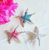 Starfish Brooch - 3 Colours To Choose From!