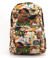 Loungefly X Disney Moana Backpack - Cobalt Heights