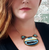 Jubly Umph The Whale Statement Necklace - In Action - Cobalt Heights