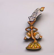 Hungry Designs Lumiere Brooch - Cobalt Heights