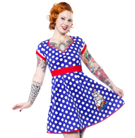 Sourpuss Sailor Dollface Ship - Cobalt Heights