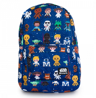 Loungefly X Star Wars Baby Character Print Backpack - Cobalt Heights