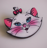 Hungry Designs Marie Aristocats Brooch - Cobalt Heights