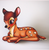 Hungry Designs Bambi Brooch - Cobalt Heights
