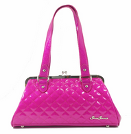 Starstruck Cosmic Kiss Lock Purse - Hot Pink - Cobalt Heights