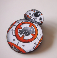 Hungry Designs BB-8 Brooch - Cobalt Heights