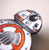 Hungry Designs BB-8 Brooch - Close Up - Cobalt Heights