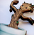 Hungry Designs Baby Groot In Pot Brooch - Close Up - Cobalt Heights