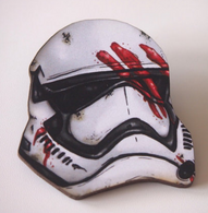 Hungry Designs Stormtrooper Helmet Brooch