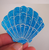 Hungry Designs Blue Mermaid Shell Brooch - In Hand - Cobalt Heights