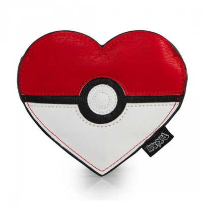 Loungefly X Pokemon Poke Ball Heart Coin Purse - Cobalt Heights