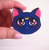 Hungry Designs Luna Brooch - In Hand - Cobalt Heights