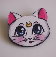 Hungry Designs Artemis Brooch - Cobalt Heights