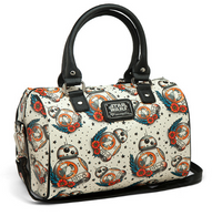 Loungefly X Star Wars BB-8 Flash Tattoo Pebble Handbag - Cobalt Heights