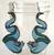 Hungry Designs Flotsam and Jetsam Drop Earrings - Cobalt Heights