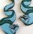Hungry Designs Flotsam and Jetsam Drop Earrings - Close Up - Cobalt Heights