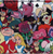 Loungefly X Disney Alice In Wonderland Characters Pebble Wallet - Print - Cobalt Heights