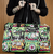 Sourpuss Fink Faces Travel Bag - In Action - Cobalt Heights
