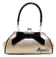 Sourpuss Floozy Purse - Gold - Cobalt Heights