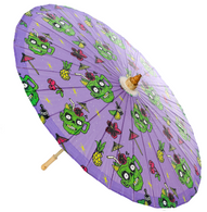 Sourpuss Zombie Drinks Parasol - Cobalt Heights