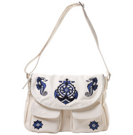 Sourpuss Anchor Nomad Purse - Cobalt Heights