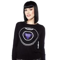 Sourpuss 8 Ball Sweater - Cobalt Heights