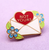 Jubly Umph Not Yours Love Letter Lapel Pin - Cobalt Heights