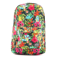 Loungefly X Pokemon Tropical Starter Backpack - Cobalt Heights