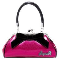 Sourpuss Floozy Purse - Glitter Pink - Cobalt Heights