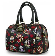 Loungefly X Disney Villains Rose Pebble Handbag - Cobalt Heights
