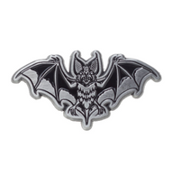 Sourpuss Bat Attack Lapel Pin - Cobalt Heights