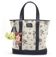 Loungefly X Pixar Toy Story Tote Handbag - Cobalt Heights